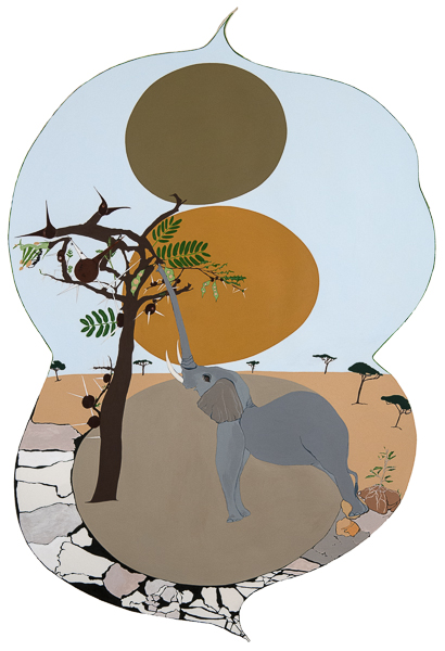 Reversing Desertification: The Savannah Elephant, The Whistling Thorn Acacia Tree and The Resident Crematogaster Mimosae Ants.